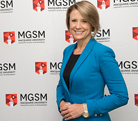 Kristina Keneally - women in MBA program